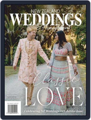 New Zealand Weddings Magazine (Digital) September 1st, 2021 Issue Cover