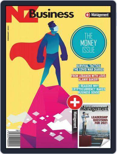 NZBusiness+Management Magazine (Digital) February 1st, 2021 Issue Cover