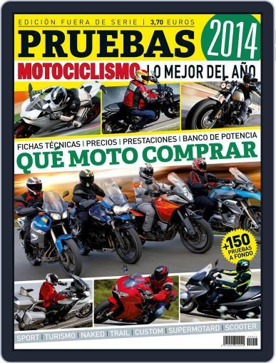 Especial Pruebas Motociclismo Magazine (Digital) October 7th, 2014 Issue Cover