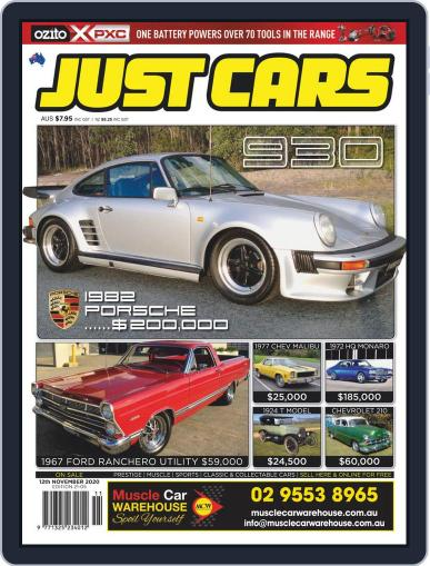 Just Cars Magazine (Digital) November 12th, 2020 Issue Cover
