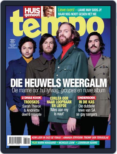 Huisgenoot Tempo Magazine (Digital) July 24th, 2012 Issue Cover