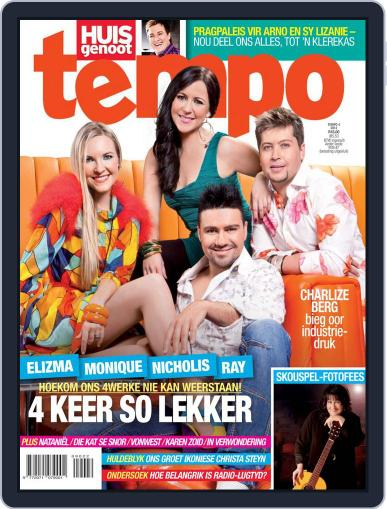 Huisgenoot Tempo September 25th, 2012 Digital Back Issue Cover