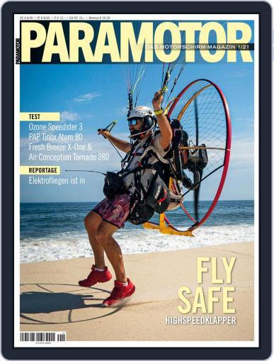 Paramotor Magazin Magazine (Digital) December 4th, 2020 Issue Cover