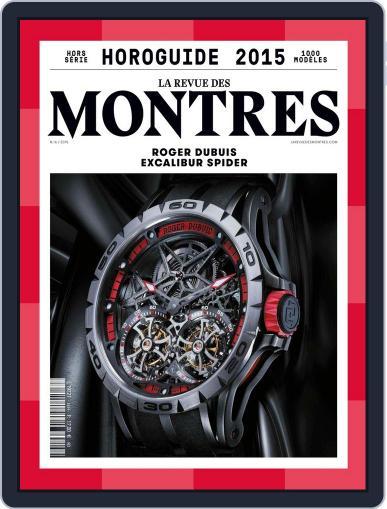 La Revue Des Montres - L'horoguide Magazine (Digital) June 3rd, 2015 Issue Cover