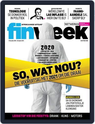 Finweek - Afrikaans Magazine (Digital) December 17th, 2020 Issue Cover