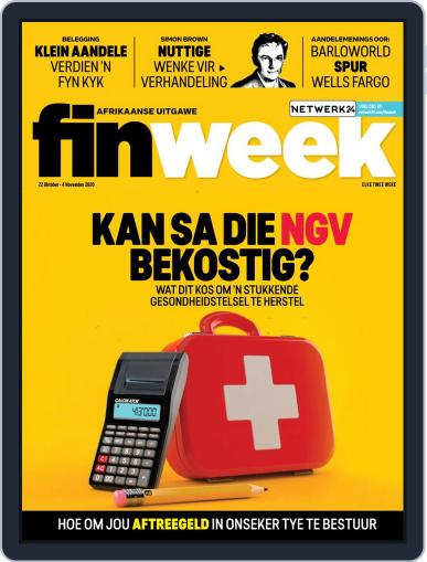 Finweek - Afrikaans Magazine (Digital) October 22nd, 2020 Issue Cover