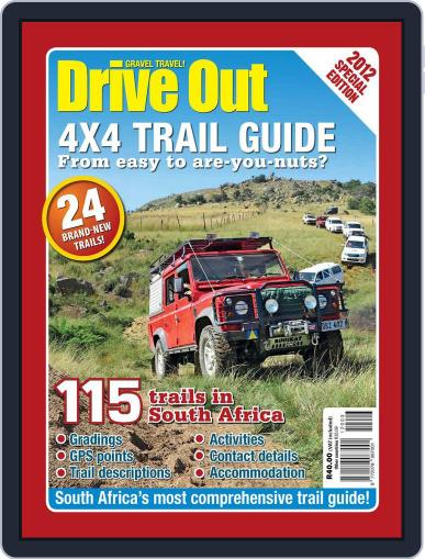 Drive Out 4x4 Trail Guide October 7th, 2012 Digital Back Issue Cover