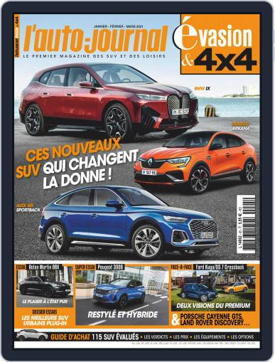 L'Auto-Journal 4x4 Magazine (Digital) January 1st, 2021 Issue Cover