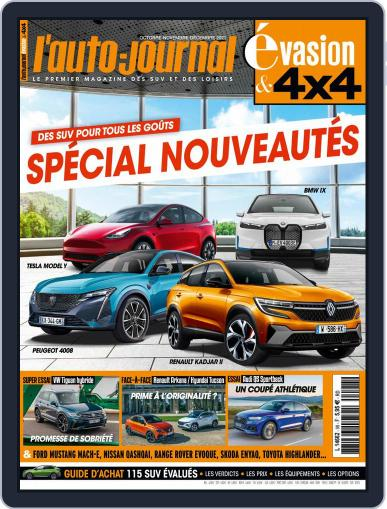 L'Auto-Journal 4x4 Magazine (Digital) October 1st, 2021 Issue Cover