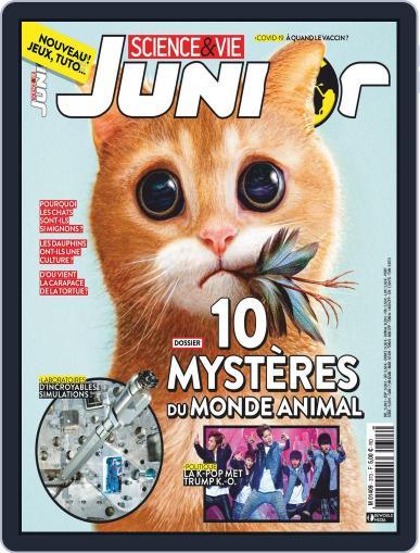 Science & Vie Junior Magazine (Digital) October 1st, 2020 Issue Cover