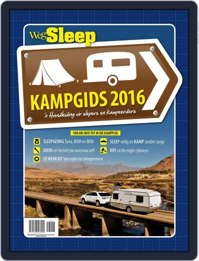 Wegsleep Kampgids Magazine (Digital) August 1st, 2016 Issue Cover