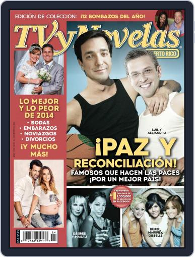 Tvynovelas Puerto Rico (Digital) December 3rd, 2014 Issue Cover