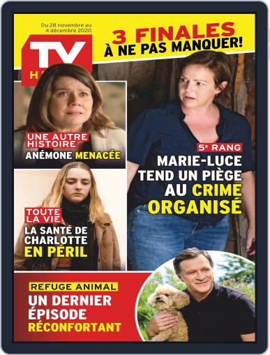 Tv Hebdo Magazine (Digital) November 28th, 2020 Issue Cover
