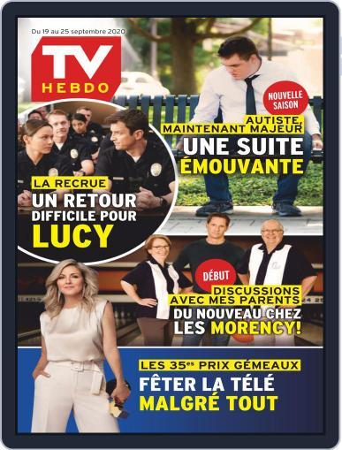 Tv Hebdo Magazine (Digital) September 19th, 2020 Issue Cover