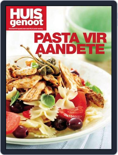 Huisgenoot Pasta Vir Aandete Magazine (Digital) October 1st, 2012 Issue Cover