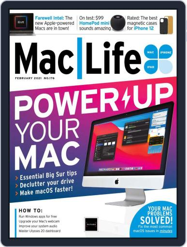 MacLife Magazine (Digital) February 1st, 2021 Issue Cover