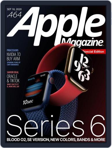 AppleMagazine Magazine (Digital) September 18th, 2020 Issue Cover