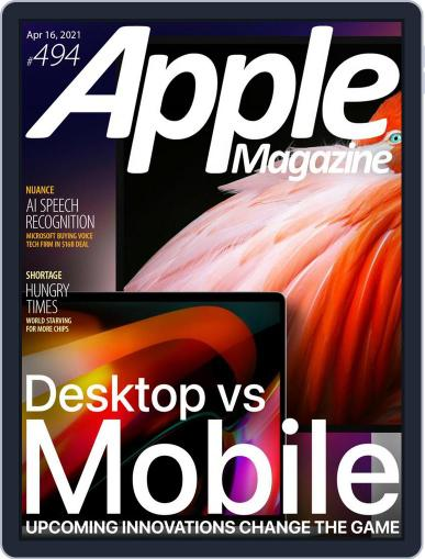 AppleMagazine Magazine (Digital) April 16th, 2021 Issue Cover
