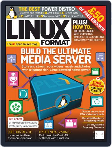 Linux Format Magazine (Digital) November 1st, 2020 Issue Cover