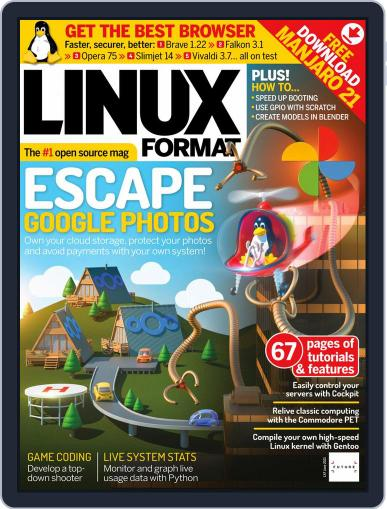 Linux Format Magazine (Digital) June 1st, 2021 Issue Cover