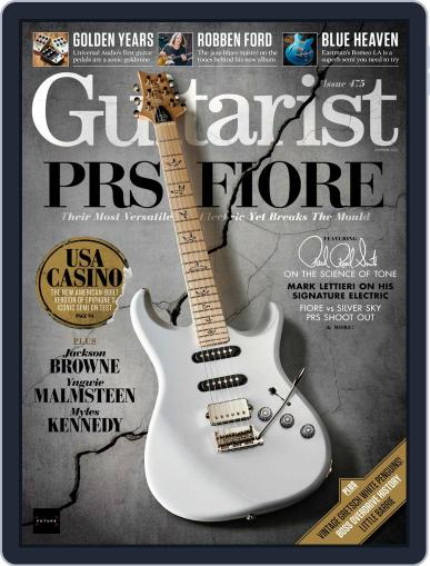Guitarist Magazine (Digital) August 2nd, 2021 Issue Cover