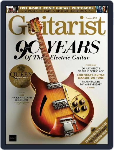 Guitarist Magazine (Digital) July 1st, 2021 Issue Cover