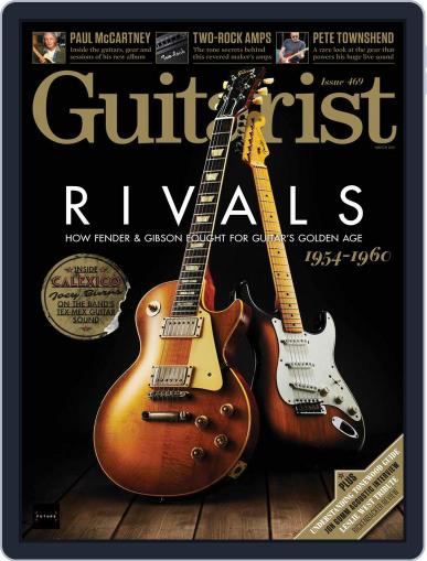Guitarist Magazine (Digital) March 1st, 2021 Issue Cover