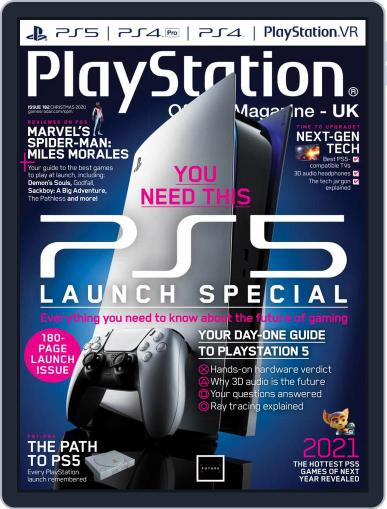 Official PlayStation Magazine - UK Edition Magazine (Digital) December 2nd, 2020 Issue Cover