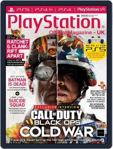 Official PlayStation Magazine - UK Edition Magazine (Digital) November 1st, 2020 Issue Cover