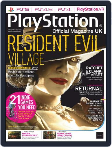 Official PlayStation Magazine - UK Edition Magazine (Digital) March 1st, 2021 Issue Cover
