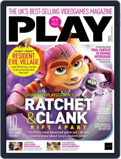PLAY Magazine (Digital) June 1st, 2021 Issue Cover