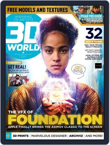 3D World Magazine (Digital) December 1st, 2021 Issue Cover