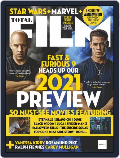 Total Film Magazine (Digital) January 1st, 2021 Issue Cover