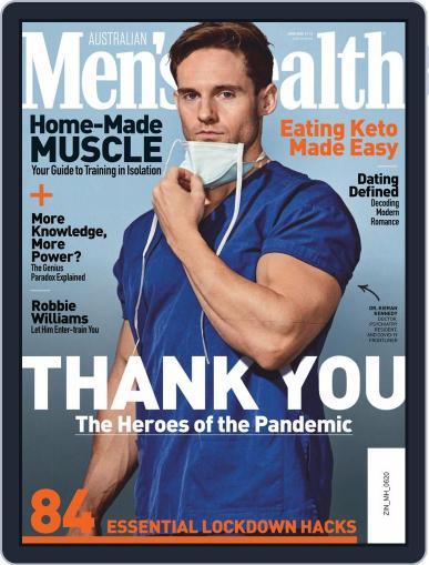 Men's Health Australia (Digital) June 1st, 2020 Issue Cover