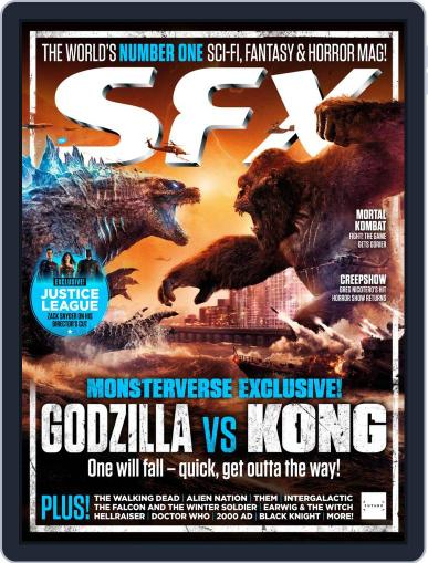 SFX Magazine (Digital) April 1st, 2021 Issue Cover
