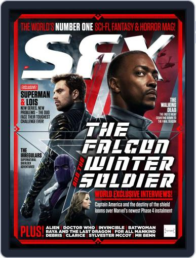 SFX Magazine (Digital) March 1st, 2021 Issue Cover