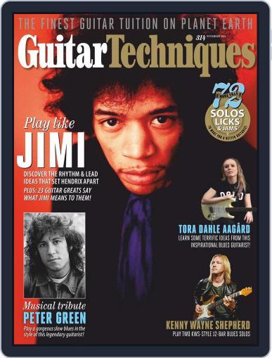 Guitar Techniques Magazine (Digital) November 1st, 2020 Issue Cover