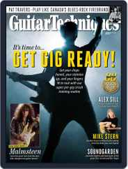 Guitar Techniques Magazine (Digital) Subscription July 1st, 2021 Issue