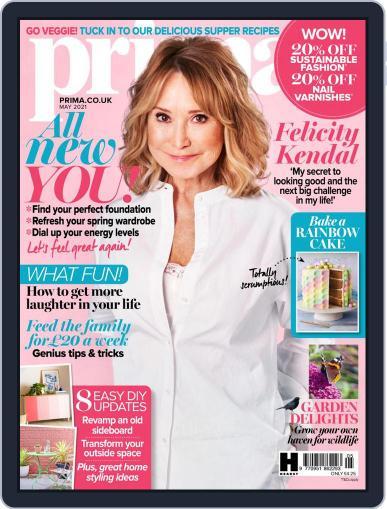 Prima UK Magazine (Digital) May 1st, 2021 Issue Cover