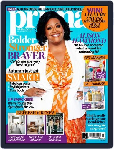 Prima UK Magazine (Digital) November 1st, 2021 Issue Cover
