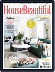 House Beautiful UK Magazine (Digital) Subscription February 1st, 2021 Issue