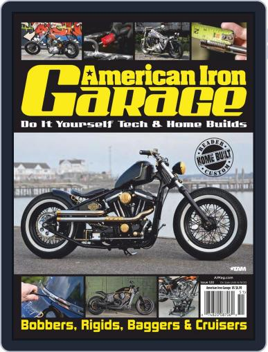 American Iron Garage March 12th, 2020 Digital Back Issue Cover