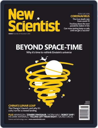 New Scientist Magazine (Digital) November 28th, 2020 Issue Cover