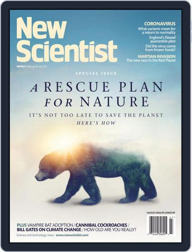 New Scientist Magazine (Digital) February 20th, 2021 Issue Cover