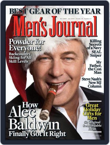 Men's Journal Magazine (Digital) December 4th, 2009 Issue Cover