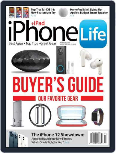 Iphone Life Magazine (Digital) November 5th, 2020 Issue Cover