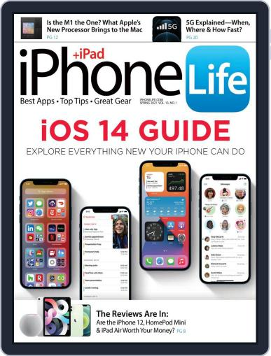 Iphone Life Magazine (Digital) January 19th, 2021 Issue Cover