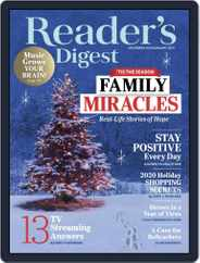 Reader's Digest Magazine (Digital) Subscription December 1st, 2020 Issue
