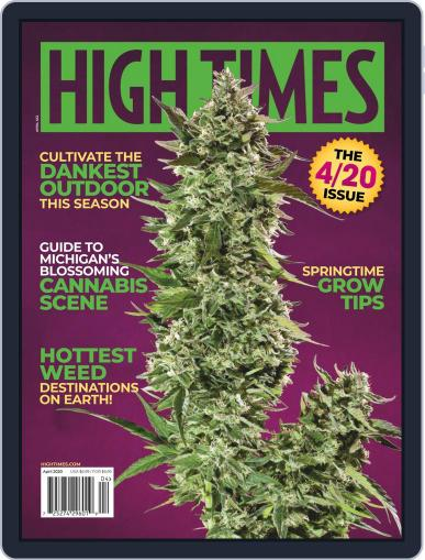 High Times Magazine (Digital) April 1st, 2020 Issue Cover