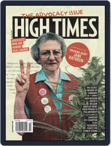 High Times Magazine (Digital) January 1st, 2021 Issue Cover